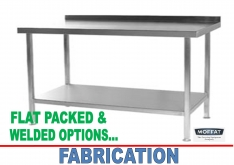 FABRICATION - TABLING - K.F.Bartlett LtdCatering equipment, refrigeration & air-conditioning